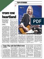 Tom Petty obituary