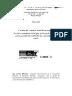 Tutorial Calculo Cortante Basal Sap2000 v11