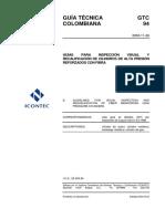 Gtc 94 - Guia Para La Inspección Visual y Recalificación de Cilindros de Alta Presión Reforzados Con Fibra
