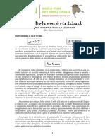 alfabetomotricidad - LetrasVivientesHaciaLaEscritura