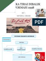 membuka tirai dibalik reformasi 1998