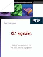 Ch.1 Negotiation