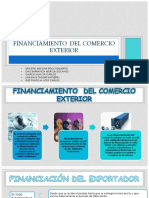 Financiamiento Del Comercio Exterior
