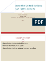 Introduction to UN Human Rights System