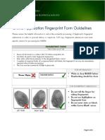Fingerprint Guide Applicant