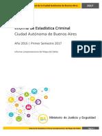MAPA DEL DELITO DE LA CIUDAD 2017
