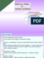 Defect in Defect