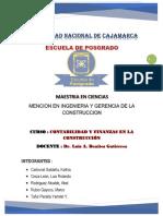 CONTABILIDAD Y FINANZAS EN LA CONSTRUCCIÓN
