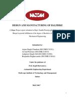 MAJOR Project Final Report