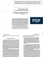 Psychoanalysis in India Salman Akhtar
