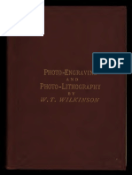 Photo Engraving and Photo-Litography - Wilkinson 1886