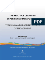 The Multiple Learning Experiences