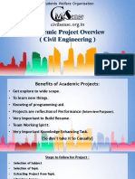 what and how to do Project(academic) Civil Engineering