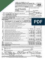 UDWI Tax Return