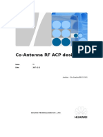 Co-Antenna RF ACP Design