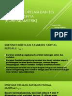 PPT Koefisien Korelasi Dan Tes Signifikansinya (Nonparametrik) Fiks2