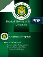 PT in Pediatric Conditions