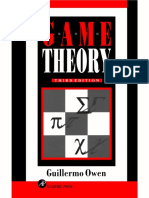 Game Theory (Owen)