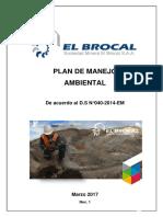 Plan de Manejo Ambiental 2017 Rev 0 (26.03.17)