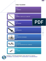 Herramientas de Perforacion (Broca-fresa Anular)