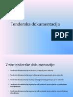 Uputstvo Za Popunjavanje Tenderske Dokumentacije