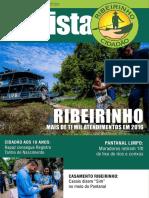 Revista do projeto Ribeirinho Cidadão