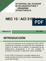 Estructuras Aci318 Nec15.Completopptx