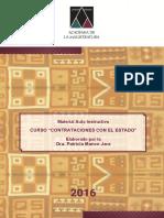 Manual Curso Contrataciones Del Estado