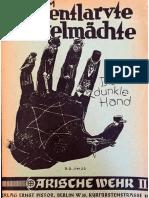 Sturm, Hans - Entlarvte Dunkelmächte (1936, 18 S., Text)