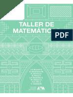 Taller de Matemáticas algabra superior universitaria