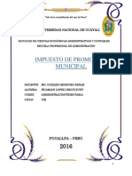 Impuestode Promocion Municipal