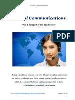Critical Communications - México