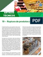 Artigo Técnico 19 - Ruptura de Produtos de Revenda
