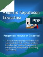 Analisis Investasi