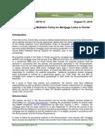Fannie Mae Mandatory Pre-Filing Mediation Policy for Mortgage Loans in Florida
