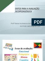 Instrumentos Para a Avaliação Psicopedagógica 30-09-17
