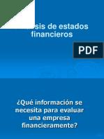 Análisis de Estados Financieros AA