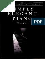 Steinway - Simply Elegant Piano Volume 1 - 52p