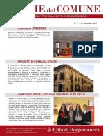 Notizie Dal Comune di Borgomanero del 21 Dicembre 2017