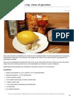 Saté Marinade Voor Kip Vlees of Garnalen