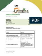 Ficha Técnica Creolina