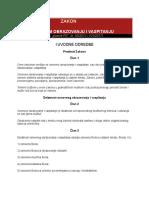 204_Zakon o Osnovnom Obrazovanju i Vaspitanju
