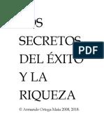 Los Secretos Del Exito y La Riqueza 2017 Armando Ortega