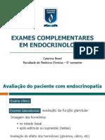 Exames Complementares Em Endocrinologia