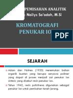 12-13.Kromatografi 4,Penukar Ion