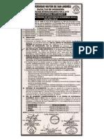 Convocatorias Curso Preuniversitario y Examen de Ingreso (Prueba de Suficiencia Académica)1- 2018 y otros