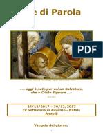Sete di Parola - IV Settimana Avvento B - Natale.doc