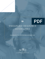National Council of Juvenile and Family Court Judges Enhanced Resource Guidelines 05-2016