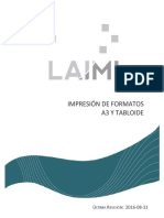 Laimi Impresion en a3 y Tabloide