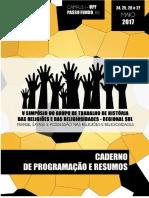 Caderno de Programação e Resumos (Virtual)